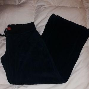 Soft velvet like sweat pants